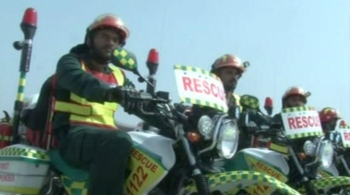 Motorcycle ambulance to bring aid at your door step