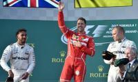 Formula One: Ferrari's Vettel wins Australian Grand Prix