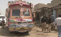 Policeman booked for firing on passenger bus in Karachi