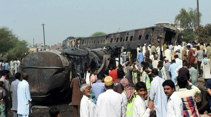 Sheikhupura train accident: Probe reveals oil tanker's axle malfunctioned
