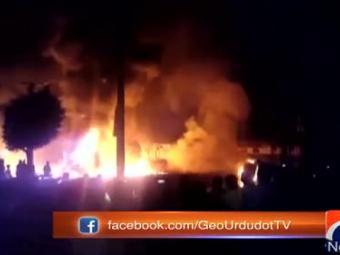 شالیمار ایکسپریس اور آئل ٹینکر میں تصادم،2افراد جاں بحق،10زخمی