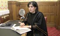 Pakistan's old pluralism inspired me, says Baroness Sayeeda Warsi