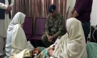 COAS visits family of martyred Major Mudassar