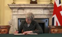 British PM May to fire starting gun on Brexit