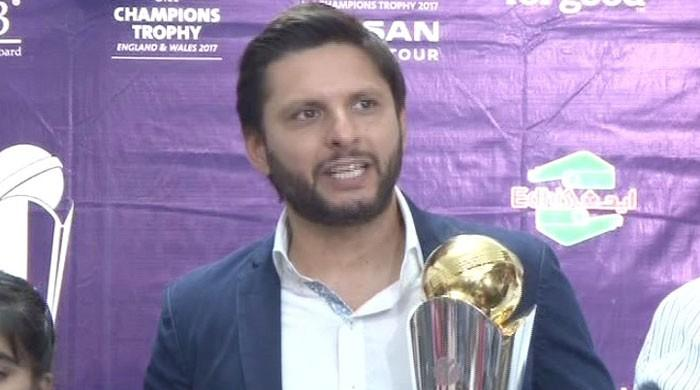 Indian government not BCCI stopping series against Pakistan: Afridi