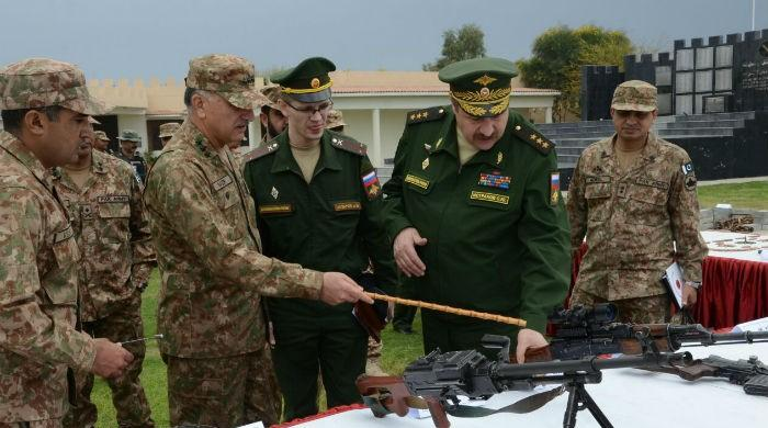 Russian military delegation visits Waziristan, hails Army's role in battling terrorism