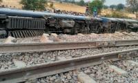 Train derailment in northern India injures 25