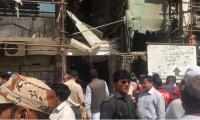 Three injured as wall of under-construction building collapses in Karachi