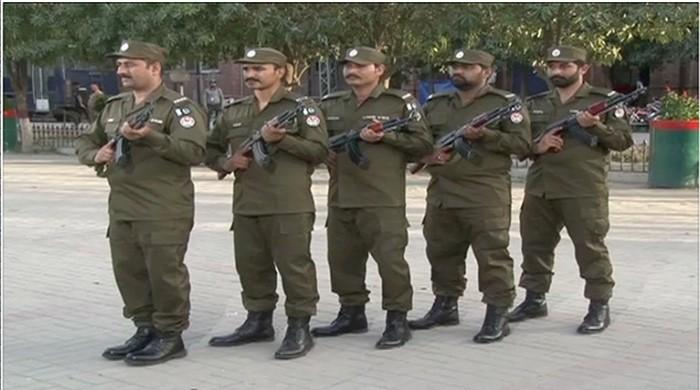 Punjab police dons new uniform in Lahore