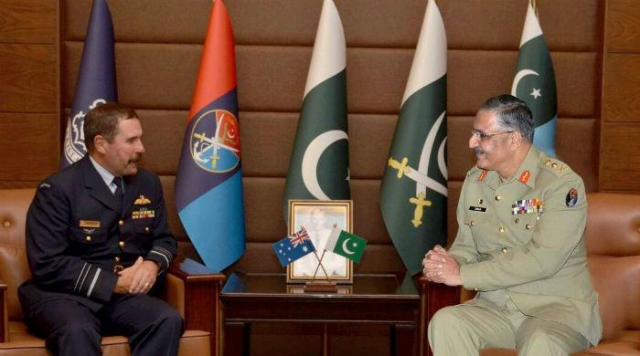 Australian Air Force chief praises professionalism of Pakistan's military