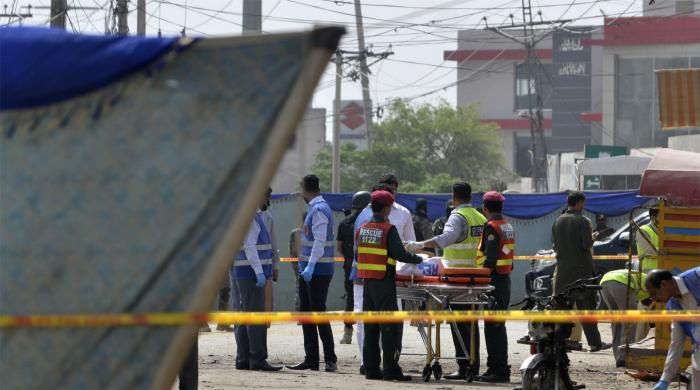 In pictures: Suicide attack on census team in Lahore