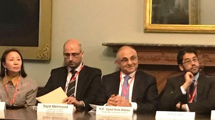 CPEC conference: UK desires to increase trade with China, Pakistan