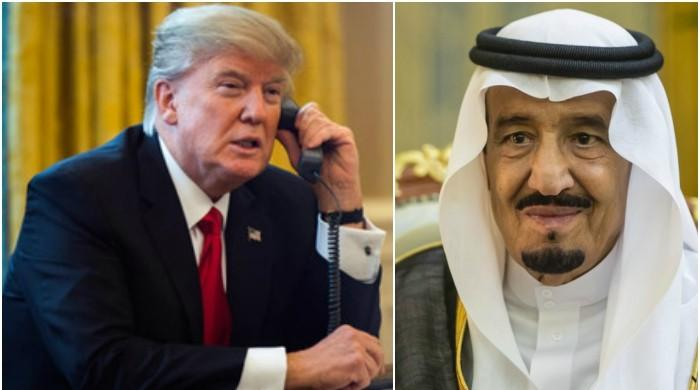 Saudi king congratulates Trump on US military strikes in Syria