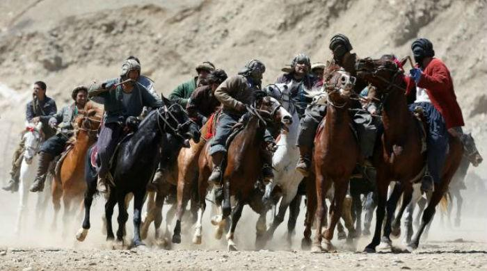 Traditional 'goat pulling' sport outlasts Afghan wars, politics