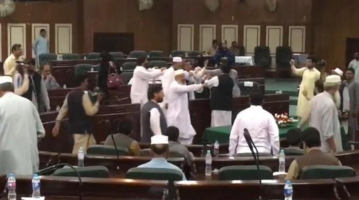 PTI, PML-N councillors clash during district council session