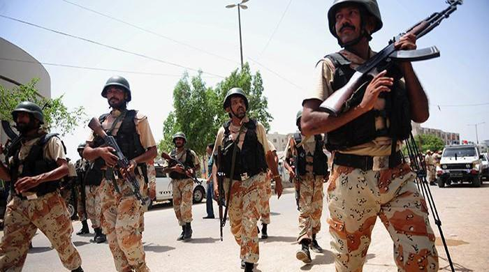 Rangers' policing powers to end in Sindh today