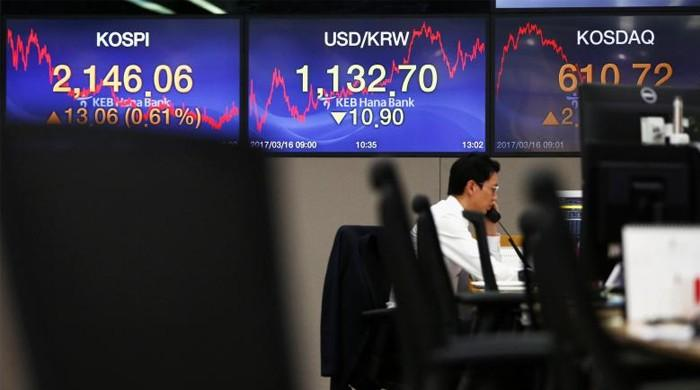 Asian shares, won move south on worries over North Korea