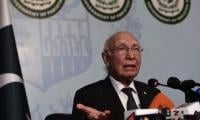 Sartaj rubbishes Indian allegations, says Jadhav tried in transparent manner