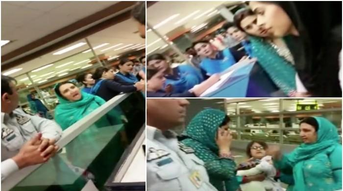 Scuffle breaks out over 'missing tissues' at Islamabad airport