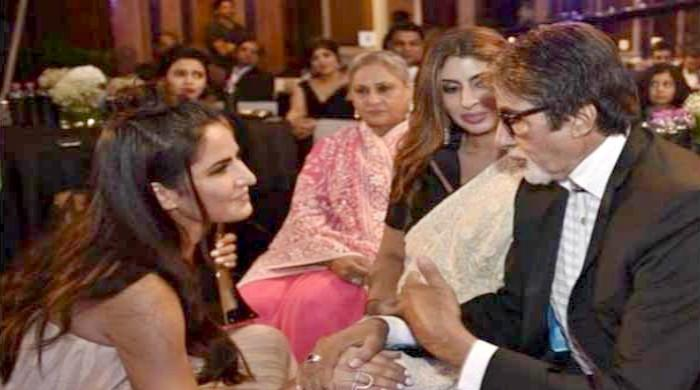 Amitabh Bachchan shares adorable picture of Katrina Kaif with daughter