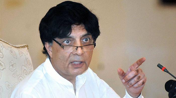 Sindh govt's excuse on Rangers' powers illogical, says Nisar
