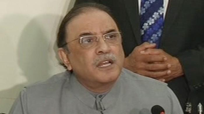 Zardari condemns SC decision, demands resignation from PM
