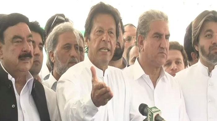 Imran Khan announces rally in Islamabad next Friday to demand PM's resignation