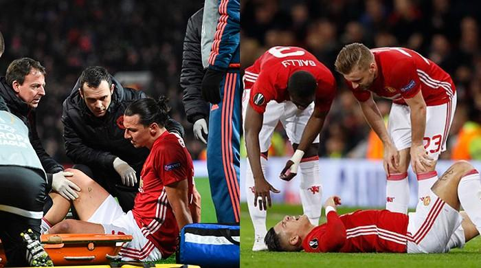 Mourinho fears worst after Ibrahimovic, Rojo blows