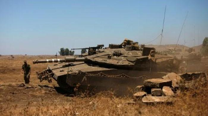 Three dead in Israeli attack on Syria military camp