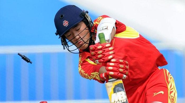 China bowled out for 28 in World League qualifier