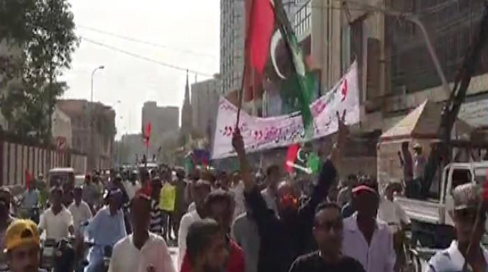 Power show: Rallies of four political parties held in Karachi