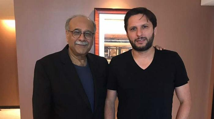 Sethi, Afridi discuss 'fitting farewell' in Dubai