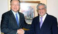 Finance Minister Ishaq Dar meets World Bank President in Washington