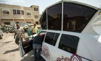 Roll with it: Gazans create own limo from five different cars