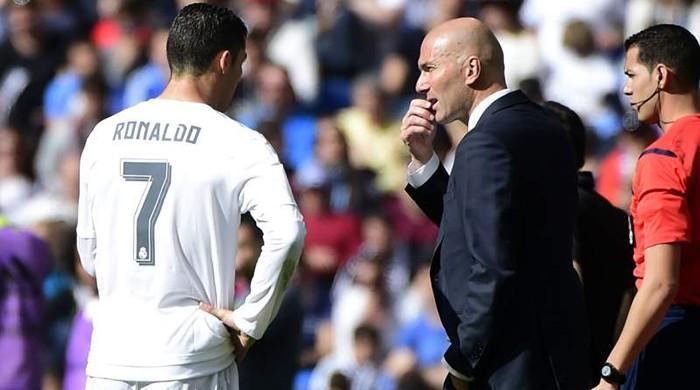 Why is Ronaldo upset with Zidane?