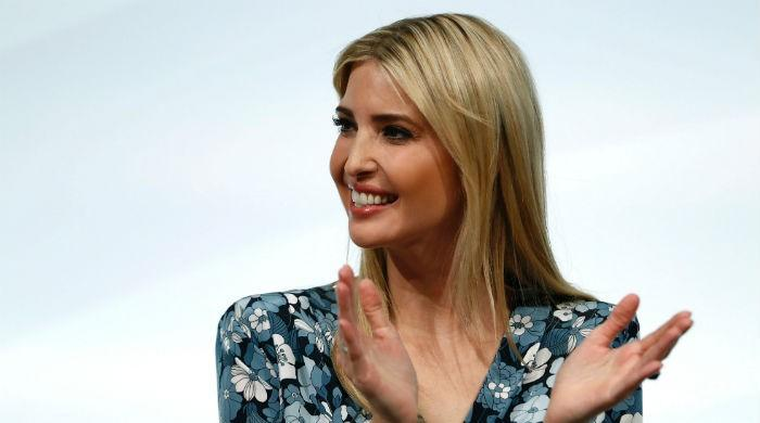 Ivanka forced to defend Trump at women´s summit