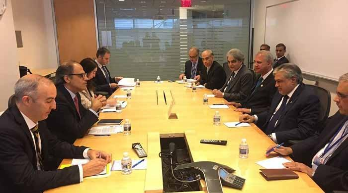 Dar meets US Treasury Secretary, discusses economic development