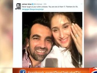 A peek into how Zaheer Khan proposed girlfriend amid IPL madness 25-April-2017