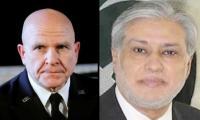 Dar meets US national security adviser in Washington