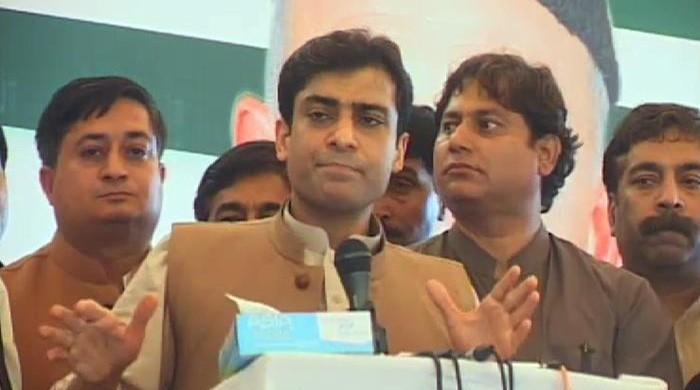 PTI chief is lying about Rs10bn offer: Hamza Shahbaz