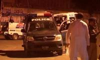 Robber among three suspects killed in Karachi, dozens held