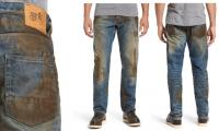American store's fake mud jeans take lumberjacking a bit too far