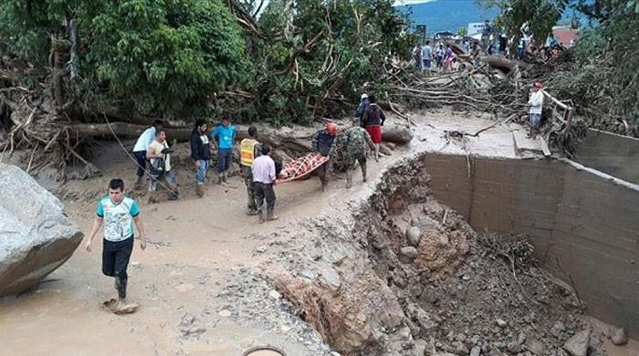 20 die in Colombia building collapse