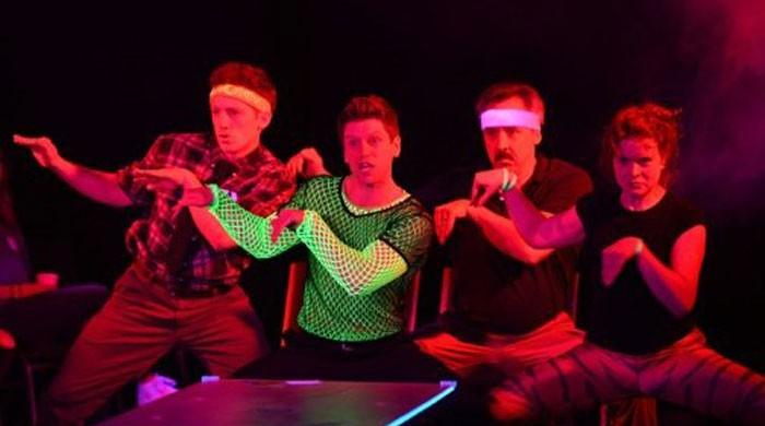 Baghdaddy new york turns iraq war into musical for Farcical comedy meaning in urdu