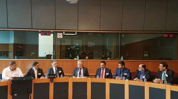 First ever Balochistan govt delegation meets European lawmakers in Brussels