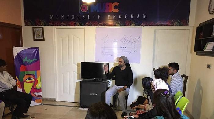 Pakistan's first music mentorship programme under way in Karachi