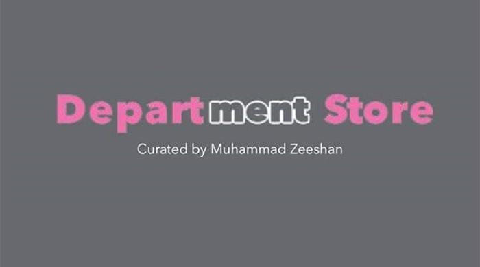 Department Store — Art opening of graduates by Muhammad Zeeshan