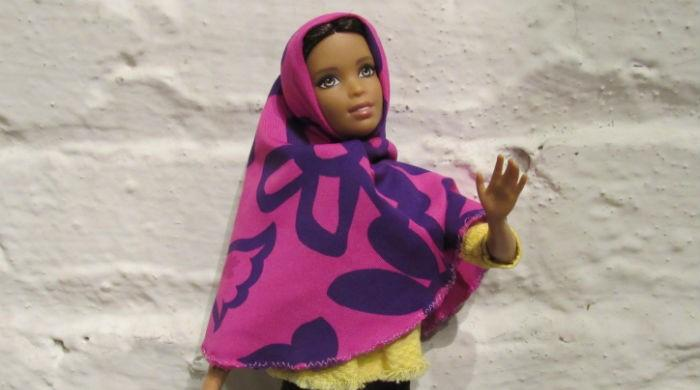 Hijab-wearing Barbie seeks to promote inclusivity