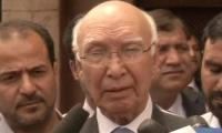 Pakistan reviewing India's petition for Jhadav case in ICJ: Sartaj Aziz