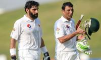 Cricket legends heap praise on Misbah, Younis